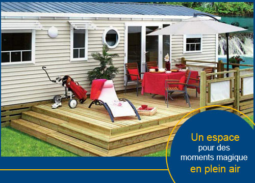 equipement pour mobilhome